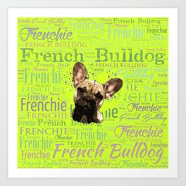 French Bulldog Puppy Art Print