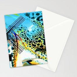 Windmills of La Mancha Stationery Cards