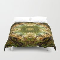 fractal Duvet Covers featuring Fractal by Rocio Sol