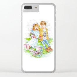 Pop Kids vol.12 Clear iPhone Case