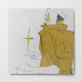 Borsalino Metal Print