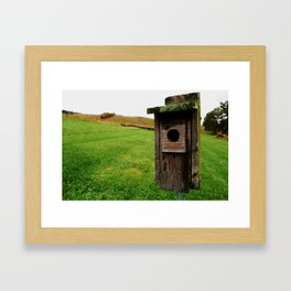 Abandoned Home Framed Art Print