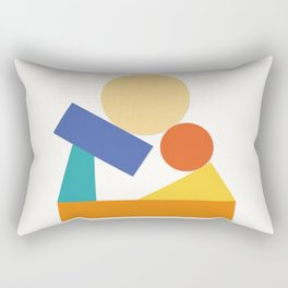 As a child Rectangular Pillow