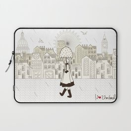 I {❤} Umbrella Laptop Sleeve