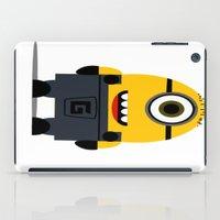 minion iPad Cases featuring Minion by Ian Zandi
