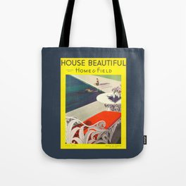 House Beautiful July 1934 Tote Bag