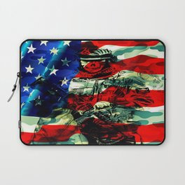 Military Branches of Service Laptop Sleeve