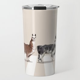 Llama The Abbey Road #2 Travel Mug