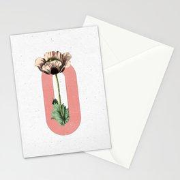 Letter 'O' Monogram Stationery Cards