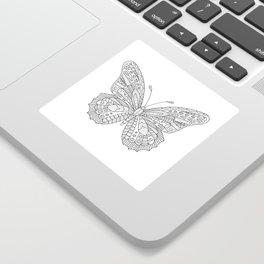 Decorative Butterfly Sticker