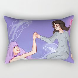 Princess Jellyfish Rectangular Pillow