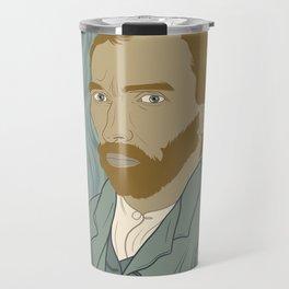Van Gogh Portrait Travel Mug