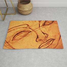 What Comes Before, What Lies Beneath From a Different Perspective Rug