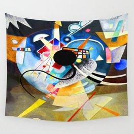 Kandinsky One Center Wall Tapestry