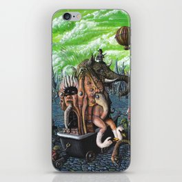 The trafficker-il trafficante iPhone Skin