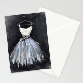 Ballerina Dress 2 - Painting Stationery Cards