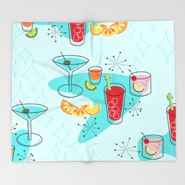 Cabo Cocktails Throw Blanket