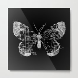 Butterfly Wanderlust Metal Print