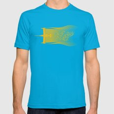 Space Horse (Spikes Horse)Bebop)Cowboy)Swordfish) LARGE Mens Fitted Tee Teal