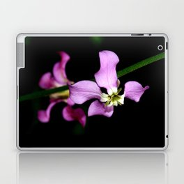 purple flower Laptop & iPad Skin