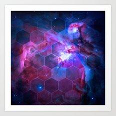Orion Honeycomb Art Print