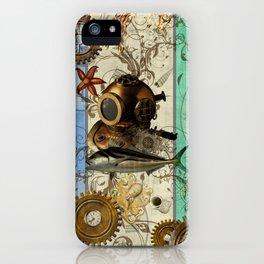 Nautical Steampunk iPhone Case