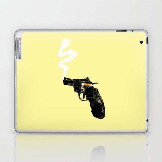 Smoking Gun Laptop & iPad Skin
