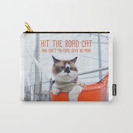 Cat - Hit the road Cat Carry-All Pouch