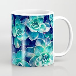 Plants of Blue And Green Coffee Mug