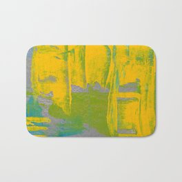 Yellow Ladders Bath Mat