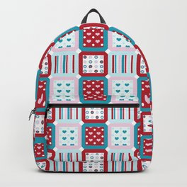 Charms Quilt Backpack