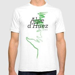 Famous Climbs: Alpe d'Huez 1, Modern T-shirt