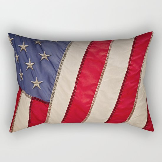 The flag of the United States of America Rectangular Pillow