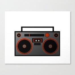 Boombox Canvas Print