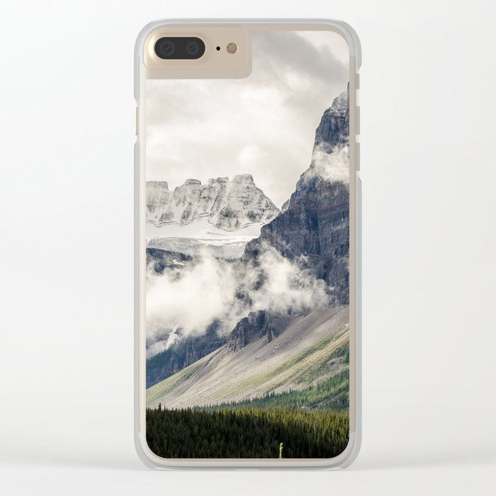 Alberta, Canada Clear iPhone Case
