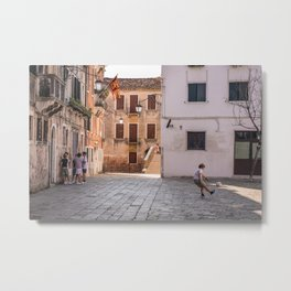 Children of Venice Metal Print
