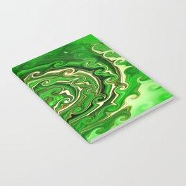 Irish Green Notebook