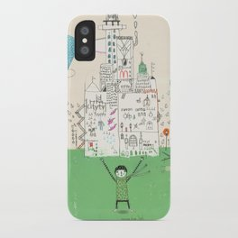 I love life. iPhone Case