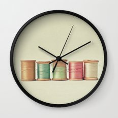 Five in a Row Wall Clock