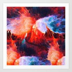 Hydrafire Art Print