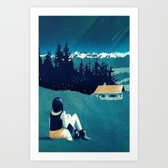 Magical Solitude Art Print