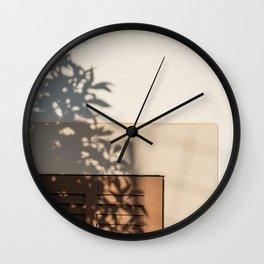 Shadow House Facade Wall Clock