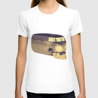 volkswagen T-shirts featuring Skull Volkswagen by Bright Enough💡