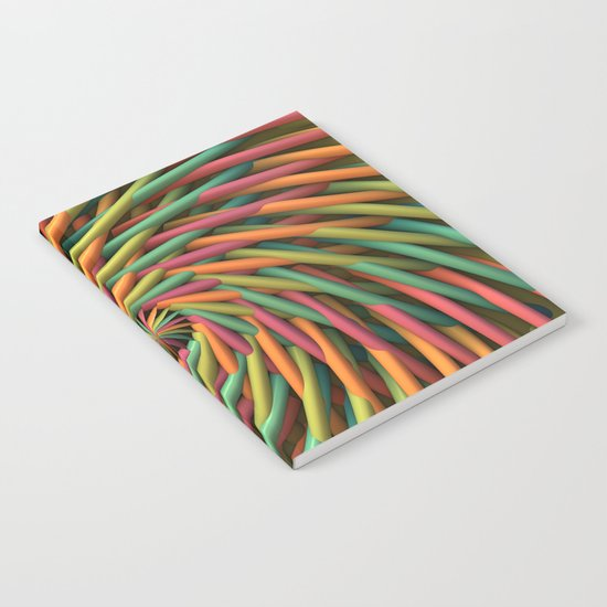 Swirl-o-Rama Notebook