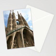 Work in Progress (La Sagrada Familia) Stationery Cards