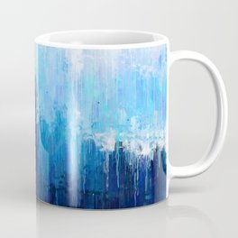 Empire State Building - New York City - Cityscape Wall Art, Poster, Impressionism Paintings, Prints Coffee Mug