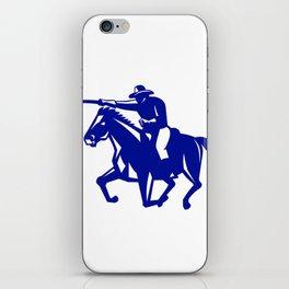 American Cavalry Charging Retro iPhone Skin