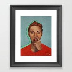 Doute Framed Art Print