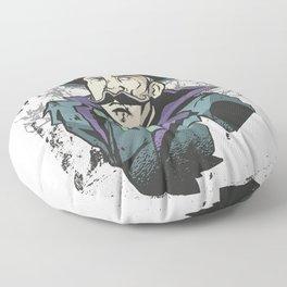 Black Forest Cartoon Floor Pillow
