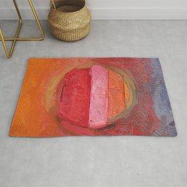 Abstract Mandala multi-coloured 1748 Rug